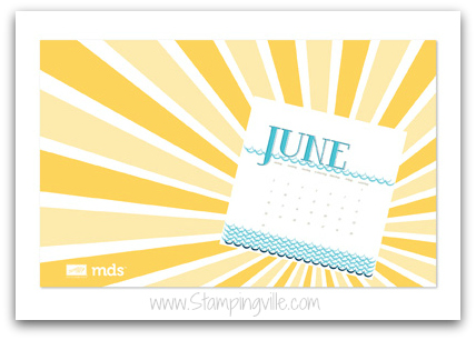 Free Download! Stampin' Up! Anchors Away June Wallpaper