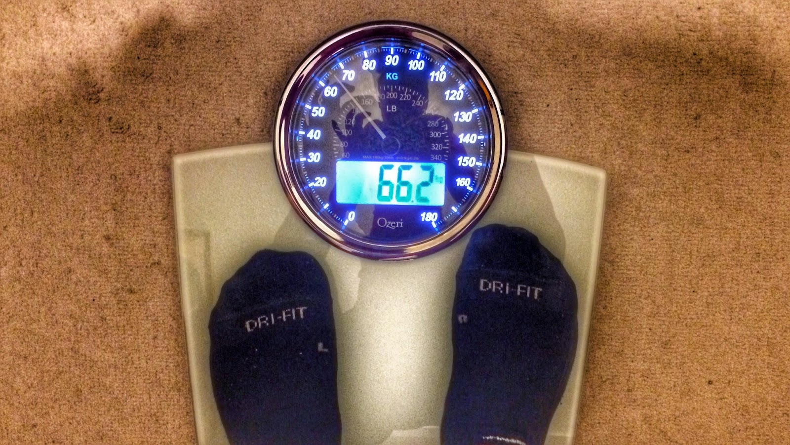 Review Ozeri Rev Digital Bath Scale With Electro Mechanical Dial