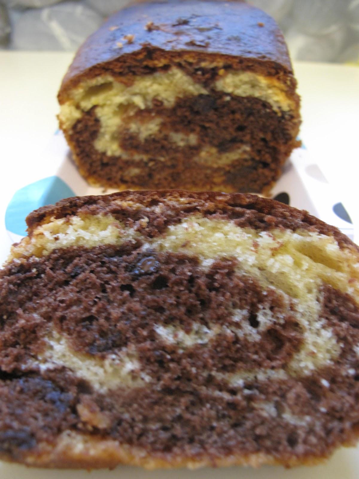 Recette Cake Marbr Ef Bf Bd Chocolat Noix De Coco