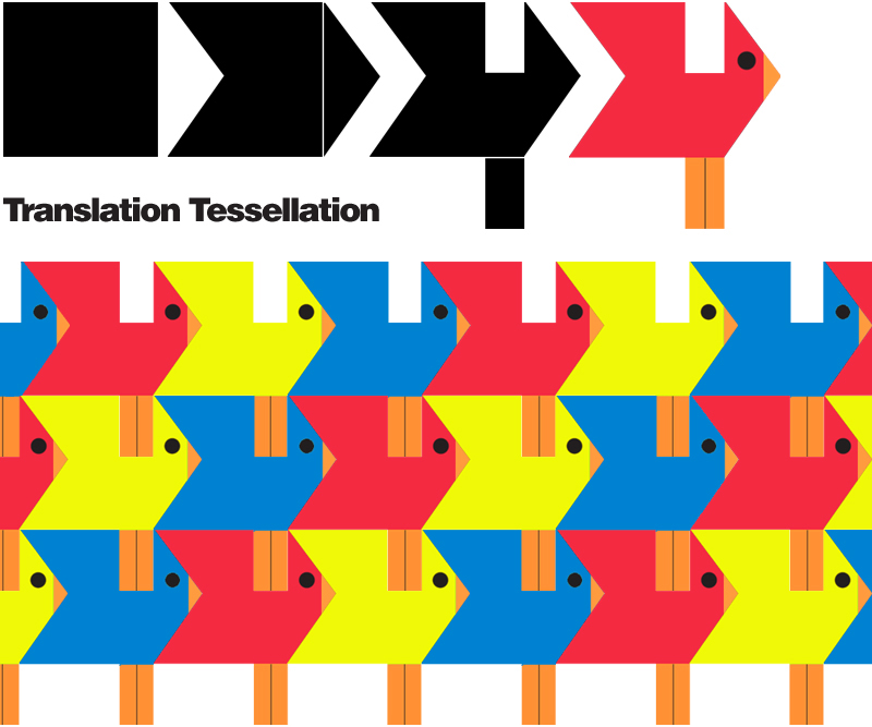 E is for Explore!: Translation Tessellation