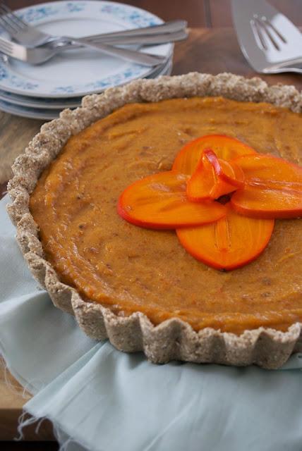 recipe: wholesome persimmon pie
