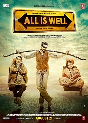 Watch All Is Well (2015) DVDRip Hindi Full Movie Watch Online Free Download
