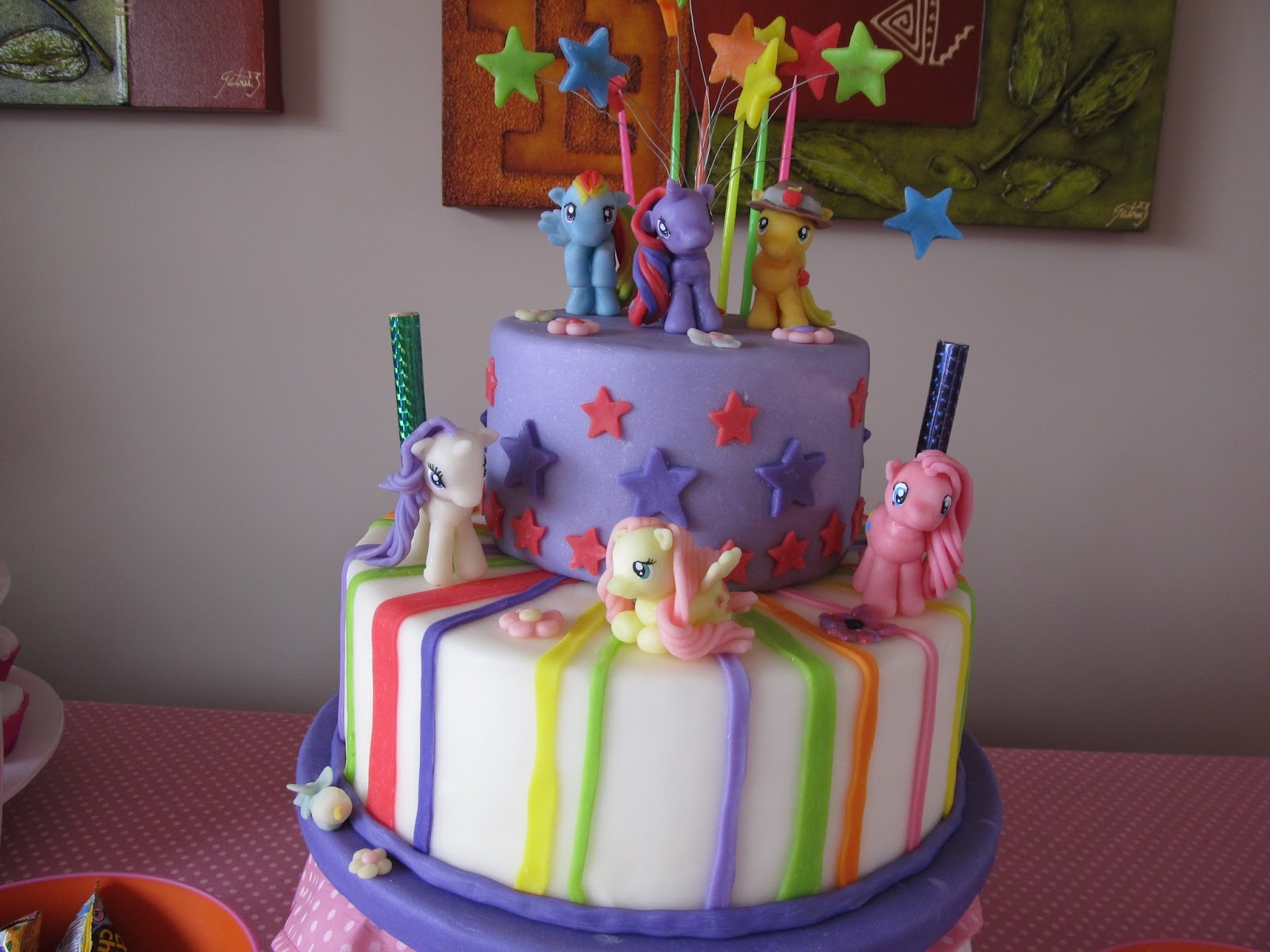 Tortas infantiles my little pony - Imagui