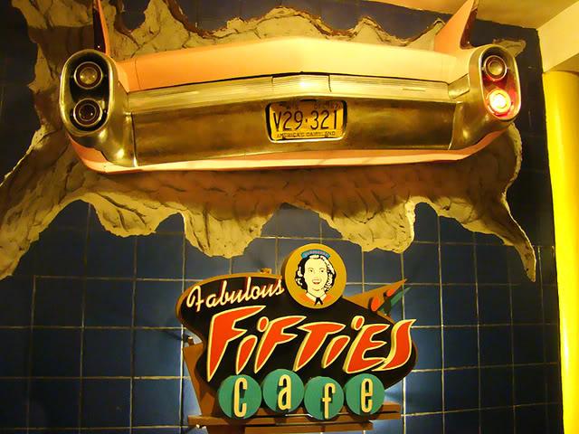 Fabulous Fifties Cafe Menu