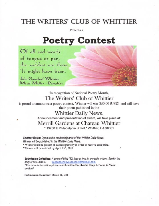 essay contest poetry contest Art and writing competitions  nancy thorp poetry contest  essay contests american foreign service national high school essay contest.