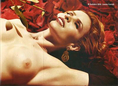 Fotos Leona Cavalli nua para a Playboy Brasil