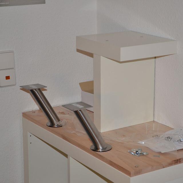 Apple iMac standing desk