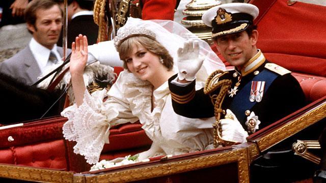 Famous royal wedding