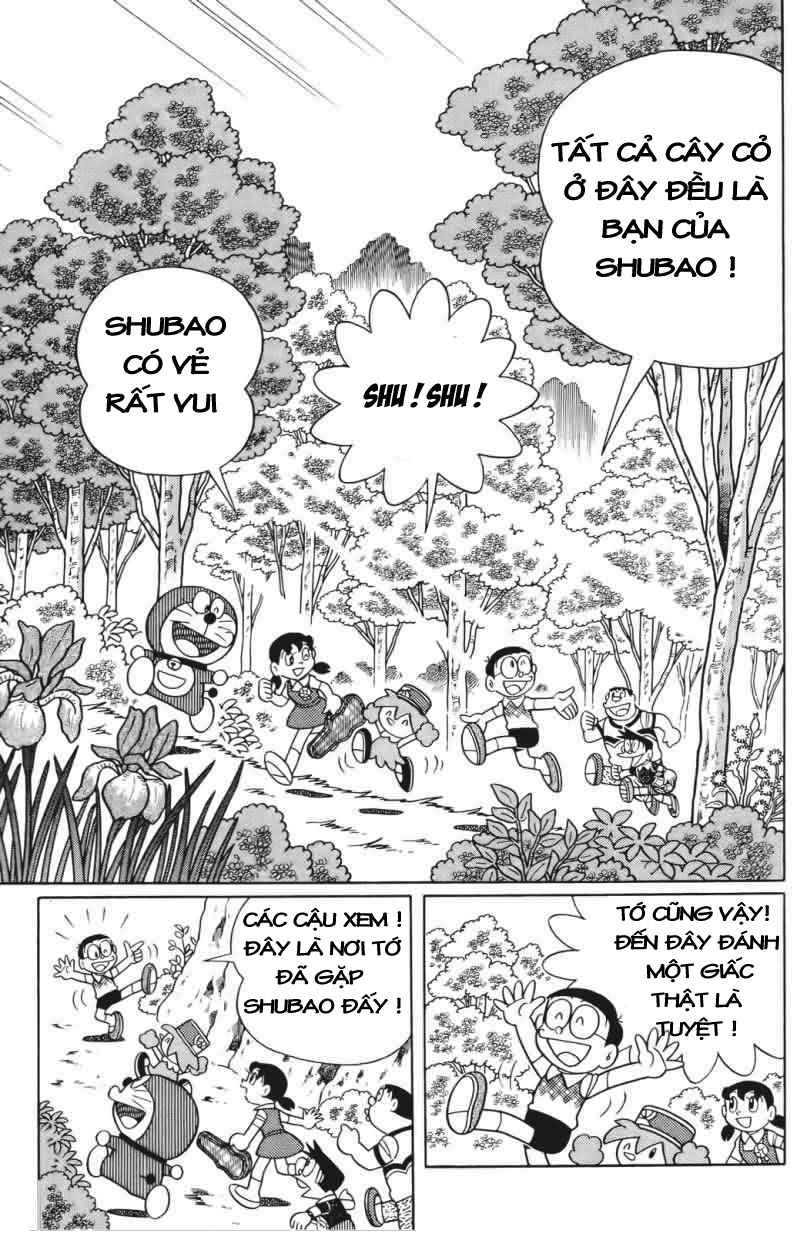 Truyện tranh Doraemon Dài Tập 25 - Nobita và truyền thuyết thần rừng trang 28