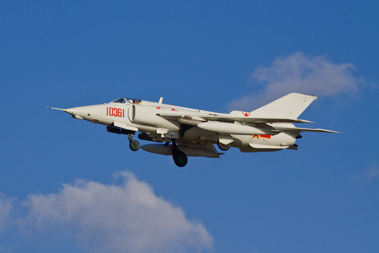 Chinese Q-5/A-5 Fantan Ground Attack Aircraft | Chinese ...