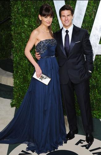 Look Tom Cruise Oscar 2012