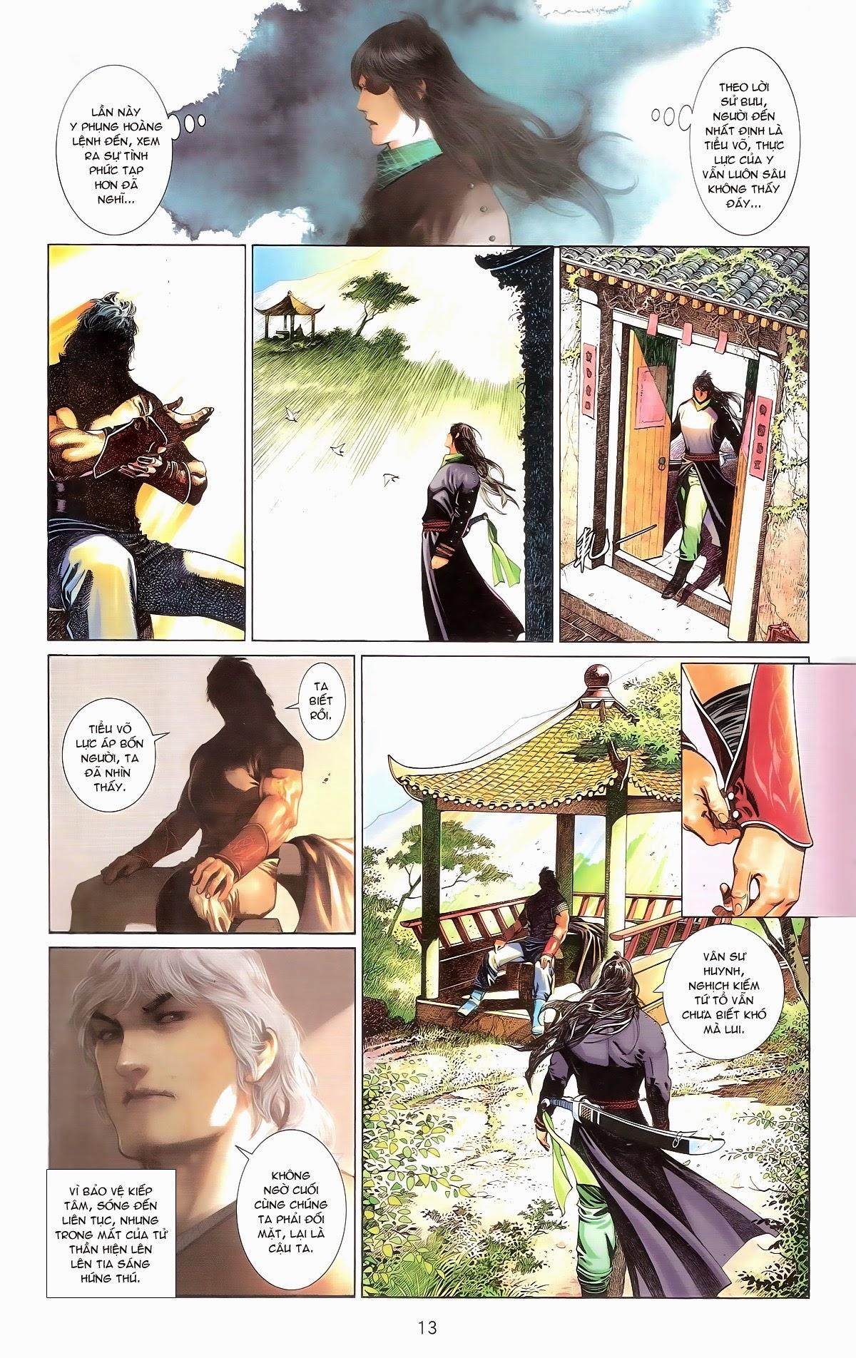 Phong Vân chap 674 – End Trang 15 - Mangak.info