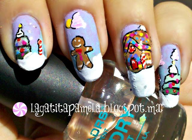 gingerbread man nails