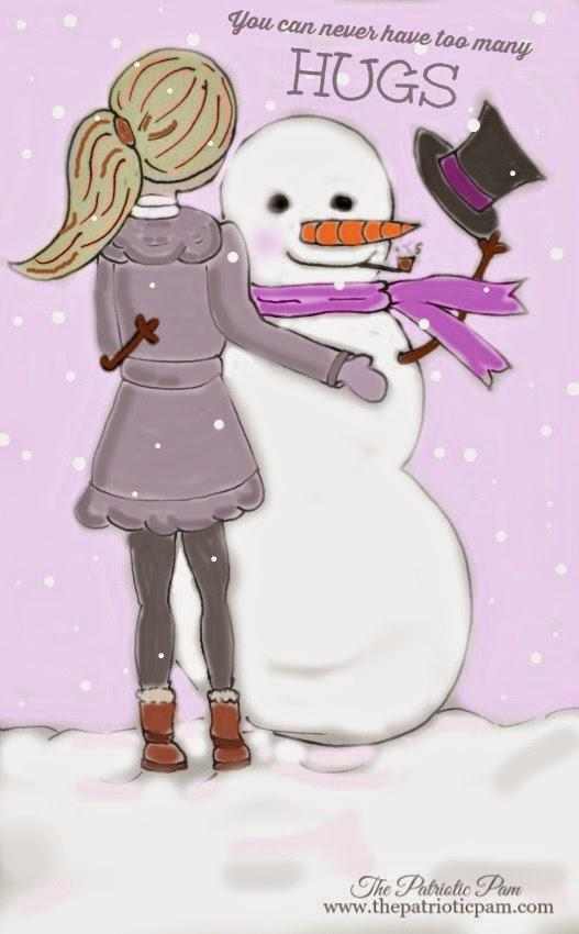 sketching, drawing, winter, snowman