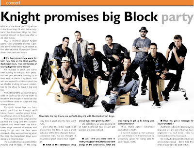 Taking it back – My interview with New Kids on the Block's Jordan Knight