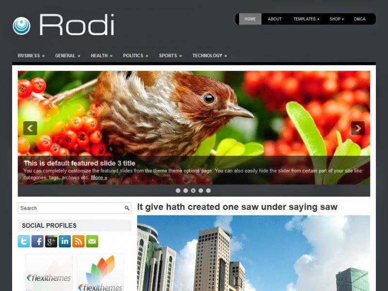 Rodi - Free Wordpress Theme