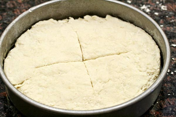Dough-in-pan