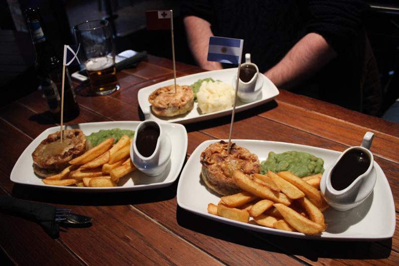 Shooters Bar Leeds Food