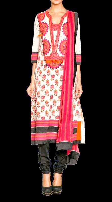 Indian Designer Pret Dresses Collection 2014