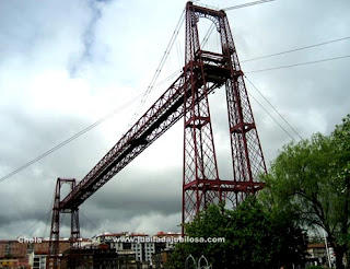 Vizcaya. Puente colgante