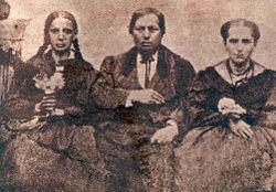 benito juarez y familia