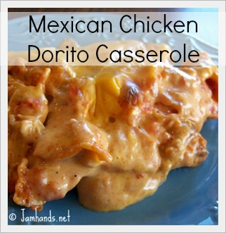 Mexican Chicken Dorito Casserole