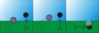 Xatoo e a bola (tirinha)