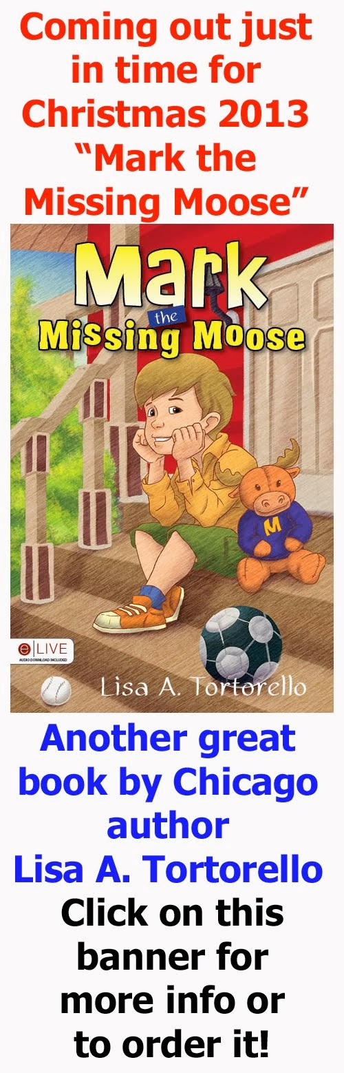 New Book by Lisa A. Tortorello - Mark the Missing Moose