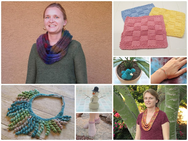 8 free knit and crochet patterns for I Love Yarn Day 2015!