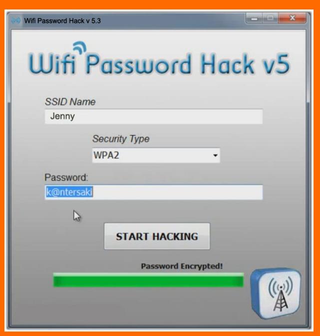 Le logiciel pour trouver le mot de passe de la connexion Wi-Fi