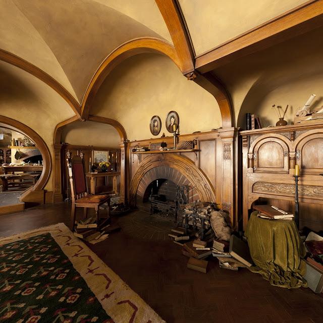 the blog of the hobbit a tour of hobbiton and bag end. Black Bedroom Furniture Sets. Home Design Ideas