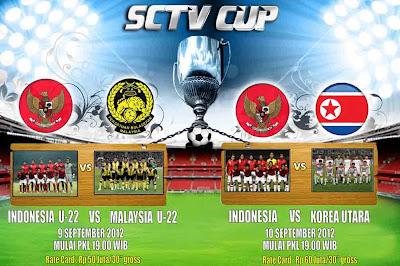 Jadwal Siaran Langsung SCTV CUP
