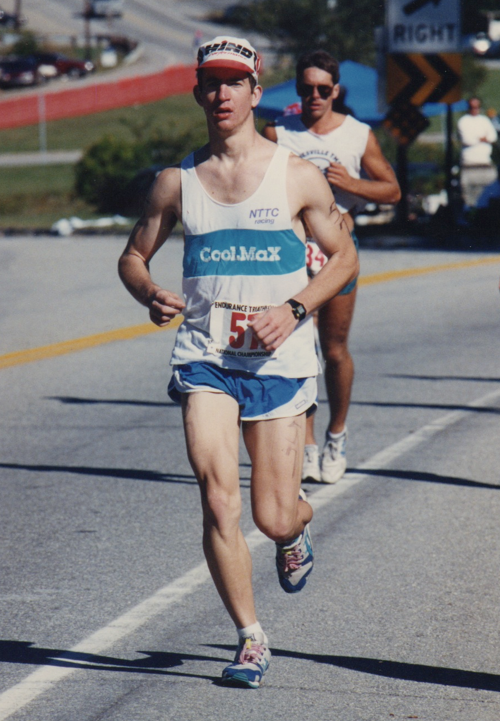 Endurance Ironman Triathlon Endurance Triathlon Lake Sunapee New Hampshire, 1990