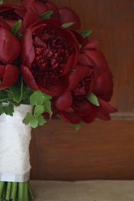 Burgundy Peony Wedding Bride's Bouquet - Franklin Plaza - Splendid Stems Event Florals