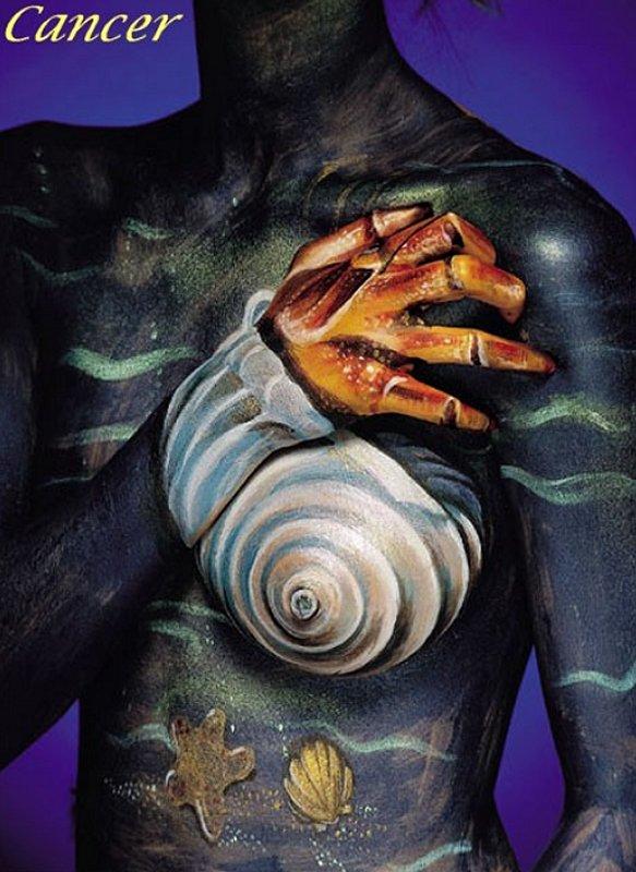 Body Painting Oroscopo Sexy