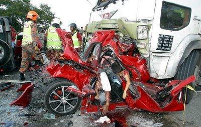 penunggang motosikal menjadi penyumbang utama kepada kemalangan maut