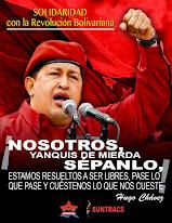 SOLIDARIDAD con la Revolución Bolivariana