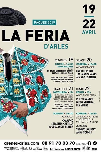FERIA DE ARLES (FRANCIA) LA FERIA DE OASCOA DEL 19 AL 22 DE ABRIL DE 2019.