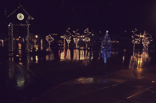 Sandpoint Christmas lights