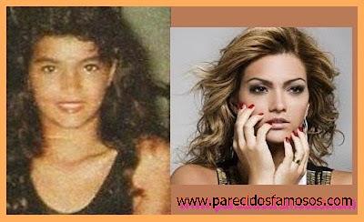 Kelly Key Cantante Brasileña antes y después