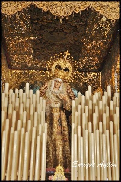 Palio Virgen del Patrocinio Sevilla El Cachorro 2013
