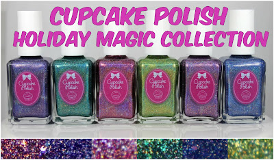 Cupcake Polish Holiday Magic Collection