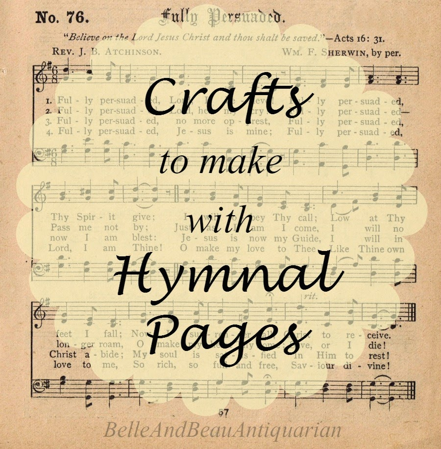 Crafts To Make With Old Sheet Music