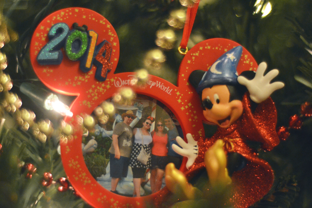 WDW Christmas Decoration