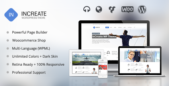 Responsive Multipurpose WordPress Theme