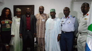 HUMAN RIGHTS WRITERS' ASSOCIATION OF NIGERIA; HURIWA, ON DECEMBER 12TH 2012 VISITED THE DG NEMA