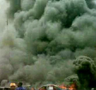 bomb-explosion-at-nnpc-mega-station-kano