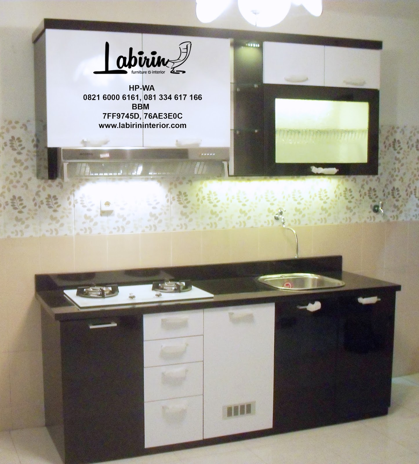 Kitchen set murah hanya 9 juta kitchen set malang for Kitchen set mewah