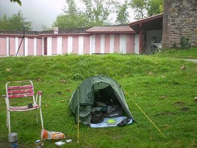 Walk and see gr10 2008 pyrenee n west - Camping municipal saint jean pied de port ...