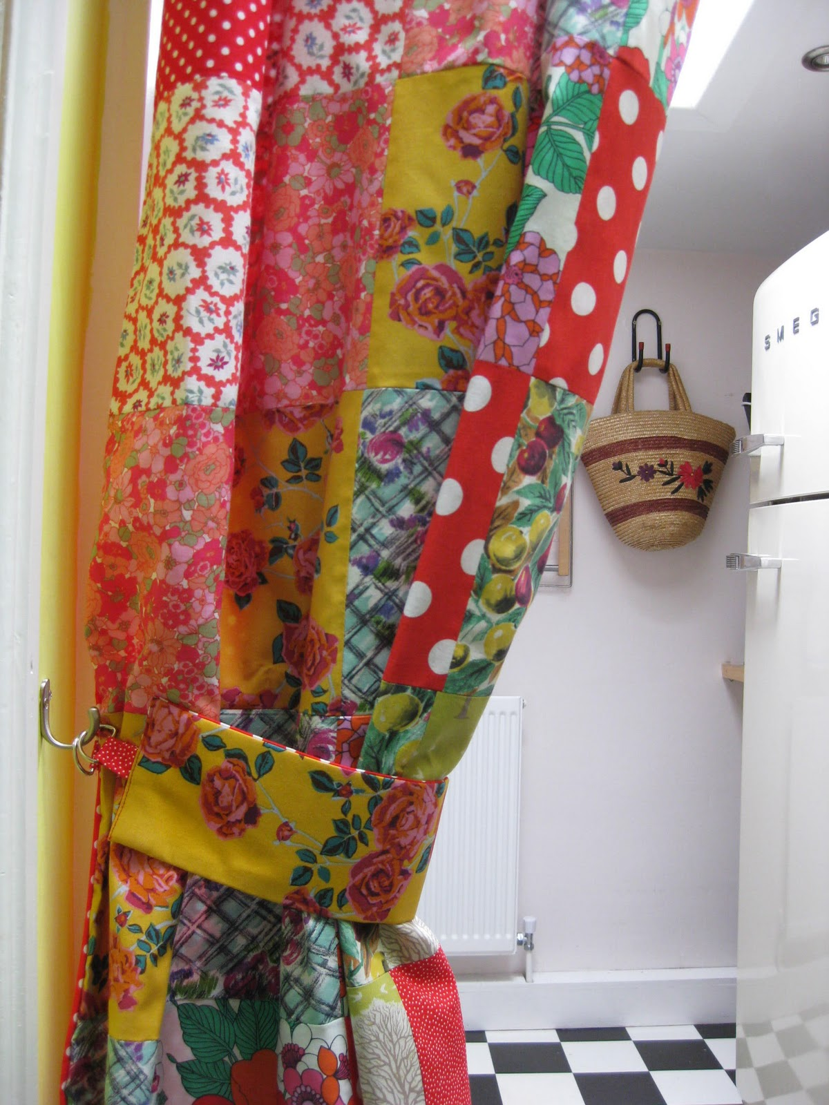 Vintage Shower Curtain Rings